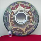 Native American Indian Shield Decorative Wall Hanging 32 Signed James Eagle