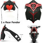 27CM Aluminum Alloy CNC Motorcycle Accessories Rear Fender Mud Dust Wheel Splash
