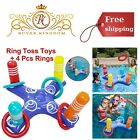 Inflatable Floating Ring Toss Pool Game With Swimming Rings Kids Adult Water Toy