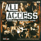 * DISC ONLY * / CD / PROMO / SAMPLER / All Access - Front Row. Backstage. Live!