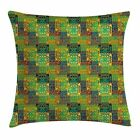 East Urban Home Ethnic Folk Artistic Native Cushion Pillow Cover