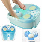 Conair Active Life Waterfall Foot Spa with Lights and Bubbles Blue