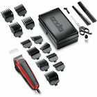 Hair Cutting Kit 20-Piece Machine Clippers Trimmer Professional Tools Grooming