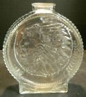 Vintage Anchor Hocking Indian Head Buffalo Nickel Glass Coin Bank Excellent Cond