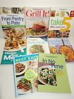 Weight Watchers Cookbook Book lot of 8 Fast Easy Delicious Recipes