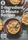 Weight Watchers WW 5 Ingredient 15 Minute Recipes 2019