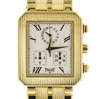 Piaget 14254 Protocol 18 Karat Yellow GOLD Chronongraph Quartz Movement 18K