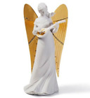 Lladro 7088 Figurine Celestial Joy Tree Topper Gold Re-Deco Withdrawl As