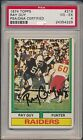 1974 Topps RAY GUY #219 HOF Signed RC PSA DNA 4 Rookie Auto 229