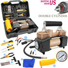 12V Heavy Duty Portable Car Tyre Auto Tire Inflator Pump Air Compressor 150PSI