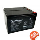 New 2 Pack 12v 7ah for Scooter Bike Battery Replaces 7Ah Enduring 6 FM 7