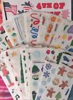 2 Strips Creative Memories CHRISTMAS HOLIDAY Stickers ALL Discontinued Vintage