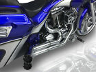 RC Components RCX Black Hellbender 2 2 Full Exhaust System Harley 09 16 FLH