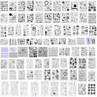 Die SiliconeTemplate Stamp DIY Album Scrapbooking Cutting Decor Card Rubber Sets