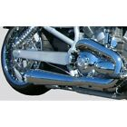 Cary Faas CFR 45 Chrome Smooth Slip On Mufflers Exhaust Harley V Rod 02 09