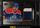 2015 UD Black Rookie Coverage Gold Connor McDavid ROOKIE AUTO PATCH 60 (PWCC)