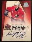 2009-10 UD The Cup - Wayne Gretzky Programme Of Excellence Auto 10 SP RARE WOW!