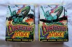 Lot of 2- Topps DINOSAURS ATTACKS Wax Boxes from 1988