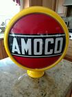 Amoco Gas Pump Globe