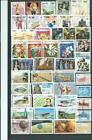 CAMBODIA  ALBUM PAGE WITH DIFFERENT MODERN USED STAMPS THEMATIC