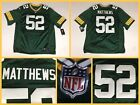 NWT Men's Authentic CLAY MATTHEWS GB Packers STITCHED Limited Nike Jersey - XXL