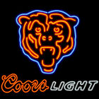 Neon Sign Coors Light Chicago Bears BeerBar Pub Store Party Homeroom Decor24X20