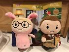 Hallmark Itty Bittys Bitty Ralphie Parker and the Old Man A Christmas Story set