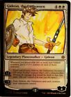 Foil Gideon the Oathsworn X1 Hand Painted Art Alter MTG Magic Sexy Anime