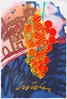 Dale Chihuly Untitled Serigraph from Chihuly, over Venice Glass Installation Art