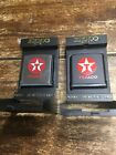 VINTAGE ZIPPO MEASURING TAPES ADVERTISING Texaco Mint Condition No Reserve