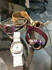 Watch Lot some vintage womens watches all need batteries
