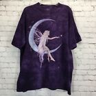 The Mountain Fairy Moon Purple Tie Dye T Shirt Birth of a Star Rachel Anderson