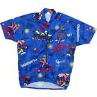 FRED ROMPELBERG BICYCLE HOLIDAYS CYCLING VINTAGE JERSEY XL