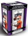 2017 LEAF DRAFT FOOTBALL BLASTER BOX- 2 AUTO'S PER BOX