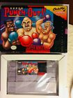 SNES SUPER PUNCH OUT YOU WANNA GO YOU WANNA GO COME ON IN CIB Complete