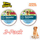 Animal Health Seresto Flea and Tick Collar for Large Dogs Over 18lbs 2Pack