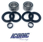 Front Wheel Bearings and Seals Fits Honda 05-14 TRX500 Fourtrax Foreman Rubicon