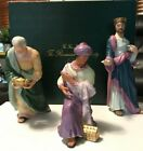 Lenox The Three Kings Renaissance Nativity Porcelain Figurines