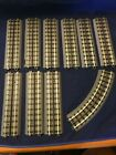 Lot of 10 MTH RealTrax O Gauge 10 Insulated 3 Rail Straight Train Track Section