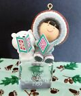 "Hallmark Frosty Friends 1980 ""Cool Yule"" 1st/first in series Chrismas ornament"