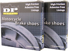 DP Brakes GF Friction Rated Brake Shoes 9109 2012 - 2016 Yamaha TT-R 50 E