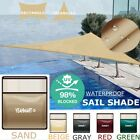 98 118 Sun Shade Sail Triangle Top Canopy Awning Pool Shelter 98 UV Block