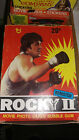1979 TOPPS ROCKY II WAX PACK BOX WITH 18 PACKS SEALED-BALBOA SYLVESTER STALLONE
