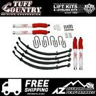 Tuff Country 25 EZ Ride Lift Leaf Springs SX6000 76 86 Jeep CJ5 CJ7 42701KH