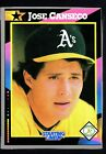 1992 Kenner Starting Lineup Cards #7 Jose Canseco HTC 261