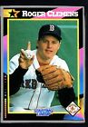 1992 Kenner Starting Lineup Cards #9 Roger Clemens HTC 263