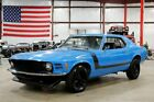 1970 Ford Mustang 1970 Ford Mustang 72962 Miles Hugger Blue Coupe 302ci V8 Automatic