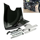 Gloss Black Fairing Front Spoiler For Harley Touring 96-17 Dyna Fatboy 2004-17