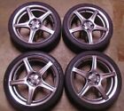 2004 2005 MAZDA MX 5 MIATA MAZDASPEED 17 OEM WHEELS RIMS