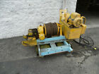 Braden Epsco Hydraulic Electric Winch Skid Mounted 5000 lbs Cable